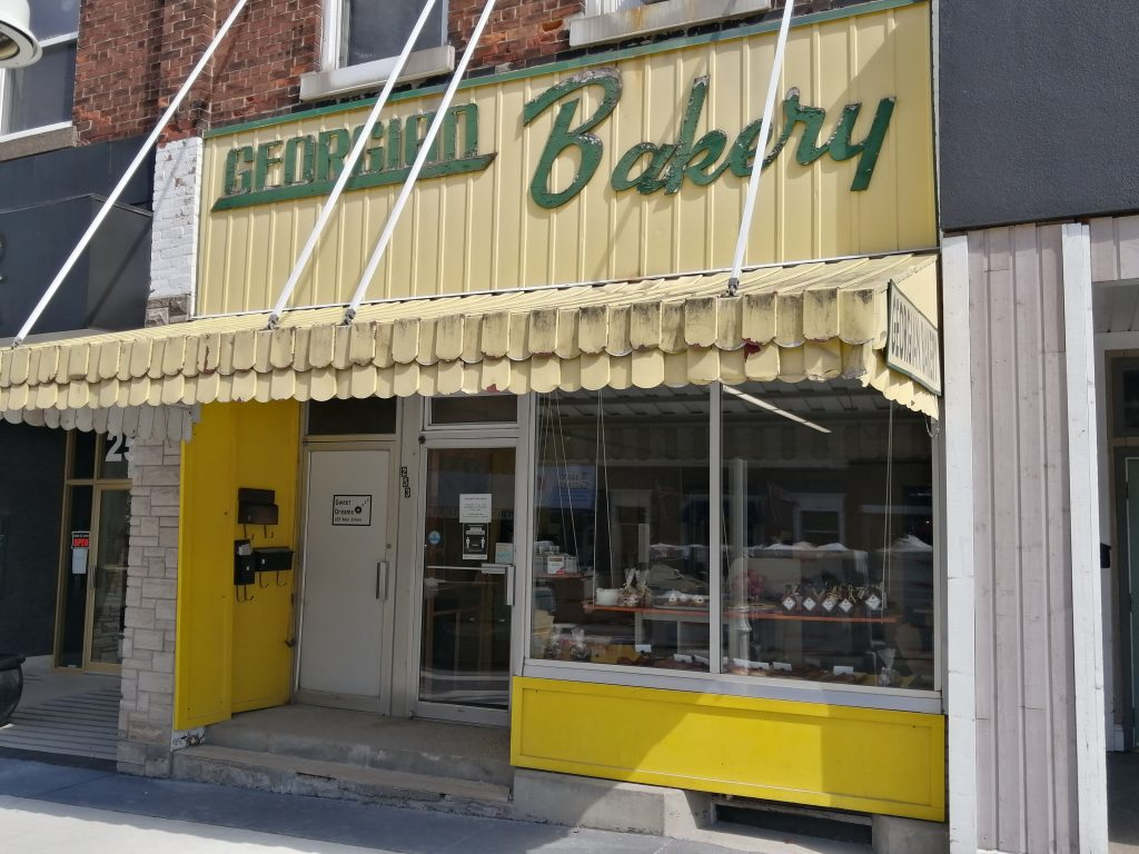 Best bakery in Midland, Historical Bakery, Georgian Bakery, great breads, Discover local, local bread, local workers, local owners, yellow, green and orange, lets have fun, King St, 231 king,